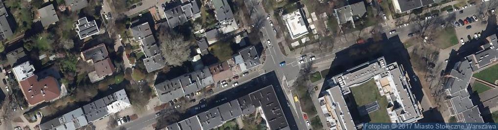 Zdjęcie satelitarne Esteta
