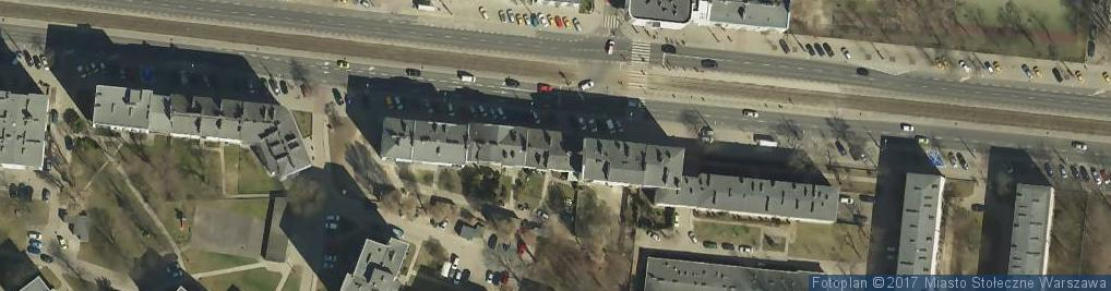 Zdjęcie satelitarne Sklep