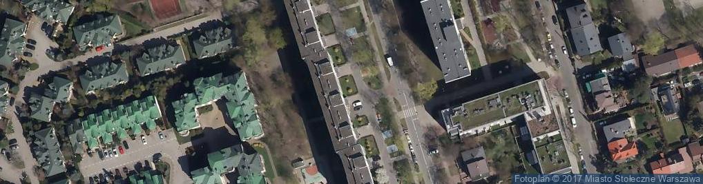 Zdjęcie satelitarne Pogotowie zamkowe Warszawa