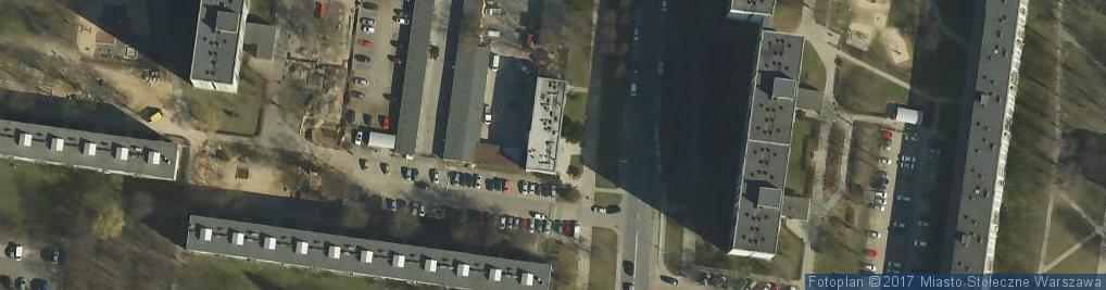 Zdjęcie satelitarne Bródno