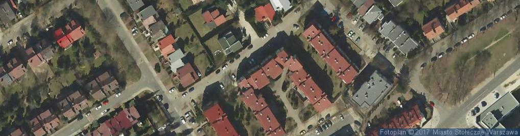 Zdjęcie satelitarne SBM Nałęczowska