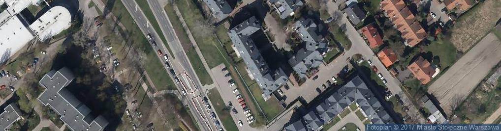 Zdjęcie satelitarne SM Lokata