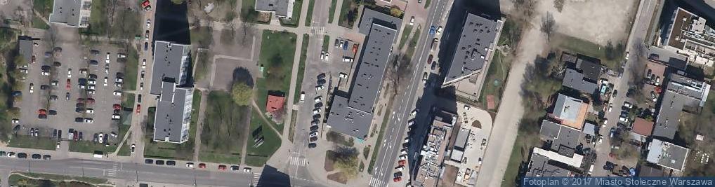 Zdjęcie satelitarne SM Służewiec