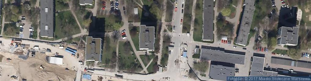 Zdjęcie satelitarne Mariusz Rudnik Przedsiębiorstwo Handlowo Usługowe MAG-MAR