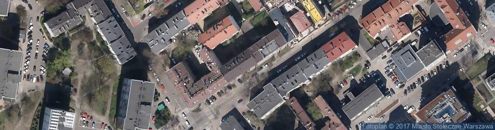 Zdjęcie satelitarne Sklep Spożywczo-Przemysłowy