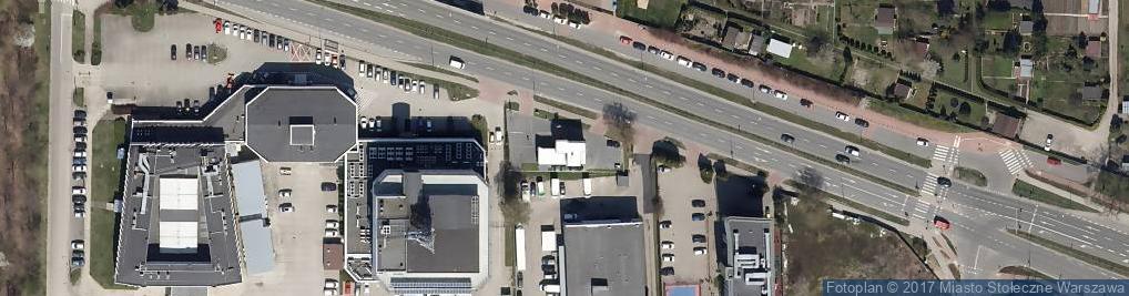 Zdjęcie satelitarne Euroautokontrola