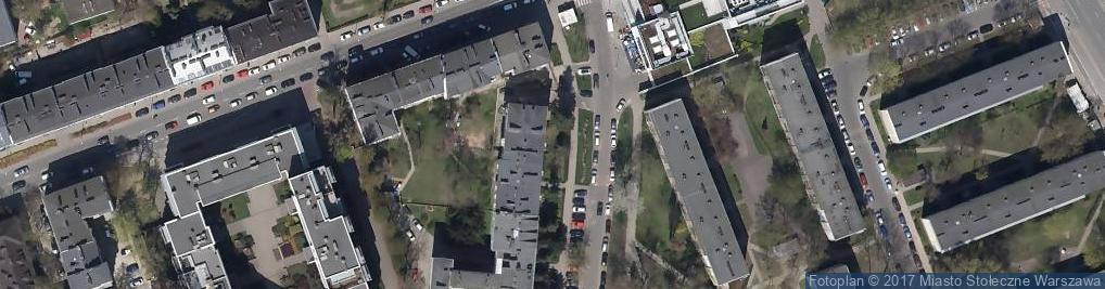 Zdjęcie satelitarne Biuro Usług Motoryzacyjnych
