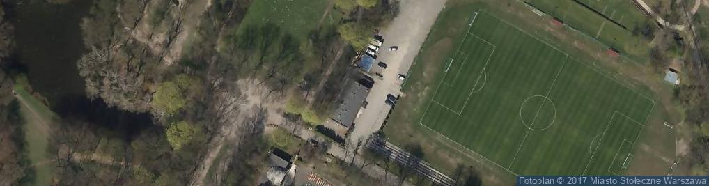 Zdjęcie satelitarne K.S. Drukarz