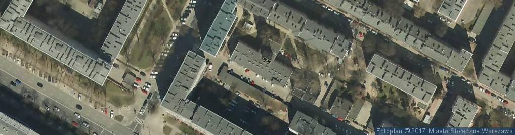 Zdjęcie satelitarne Straż Miejska