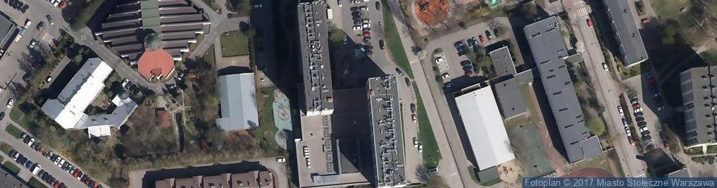 Zdjęcie satelitarne V Oddział Terenowy