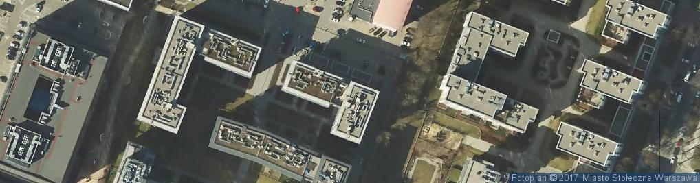 Zdjęcie satelitarne Bar Sushi Rock