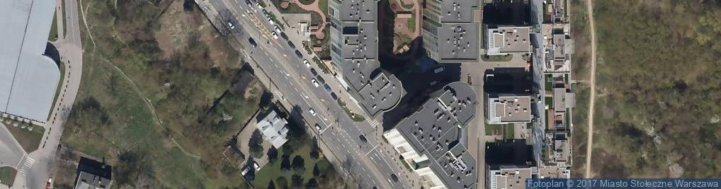 Zdjęcie satelitarne Sushi Zume