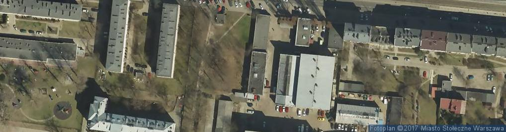 Zdjęcie satelitarne Sala Królestwa Świadków Jehowy