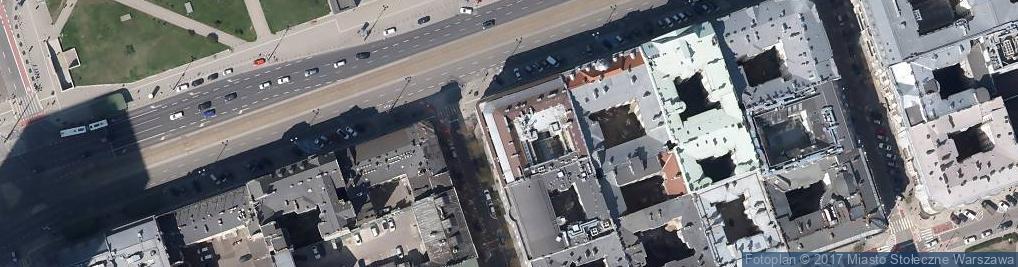 Zdjęcie satelitarne Synagoga reformowana należąca do Gminy Wyznaniowej Żydowskiej