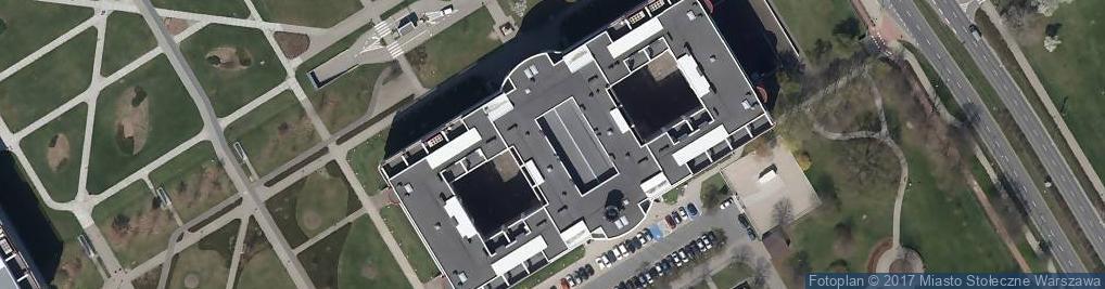 Zdjęcie satelitarne Wydział Leśny