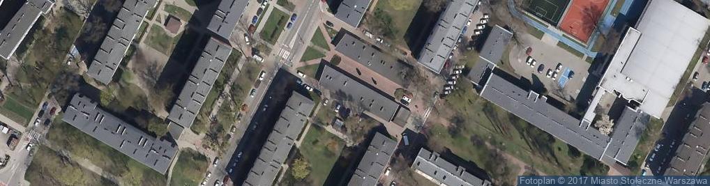 Zdjęcie satelitarne Studio Linguistico