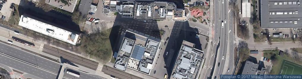 Zdjęcie satelitarne Akademia Banków Spółdzielczych