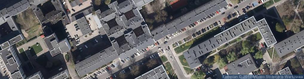 Zdjęcie satelitarne Ergo-Bis Centrum Edukacji Bezpieczeństwa I Higieny Pracy