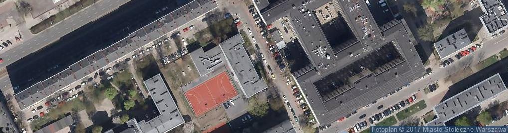 Zdjęcie satelitarne Państwowe Studium Stenotypii i Języków Obcych