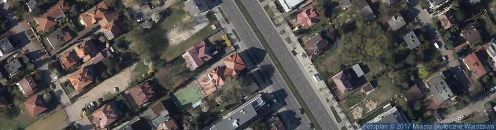Zdjęcie satelitarne Polish British Academy Of Warsaw-Dwujęzyczna Szkoła Podstawowa Z Oddziałami Międzynarodowymi W Warszawie