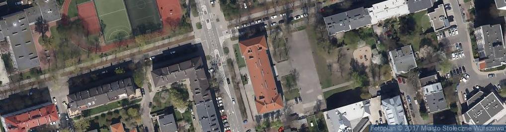 Zdjęcie satelitarne Szkoła Podstawowa Nr 157 Im. Adama Mickiewicza