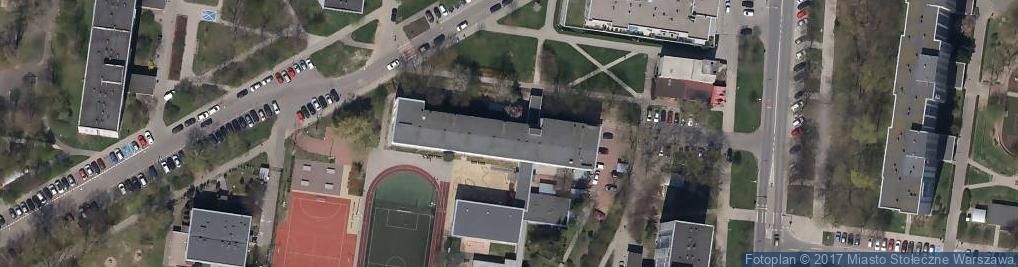 Zdjęcie satelitarne Szkoła Podstawowa Nr 285 Im. Jana Marcina Szancera