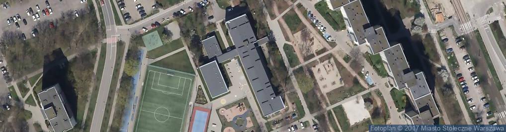 Zdjęcie satelitarne Szkoła Podstawowa Nr 298 Im. Jana Kasprowicza