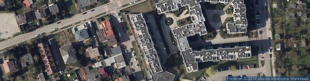 Zdjęcie satelitarne Szkoła Podstawowa Nr 84 Im. Waleriana Łukasińskiego Szkoła Filialna - Topazowa