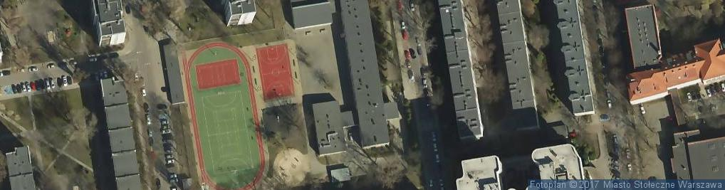 Zdjęcie satelitarne Szkoła Podstawowa Z Oddziałami Integracyjnymi Nr 68 Im. Artura Oppmana