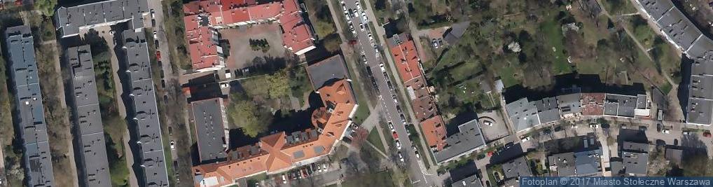 Zdjęcie satelitarne Policealna Szkoła Kosmetyczna Akademia Prenier