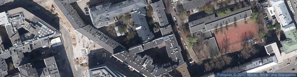 Zdjęcie satelitarne Niepubliczne Policealne Studium Prawa i Administracji Zrzeszeni