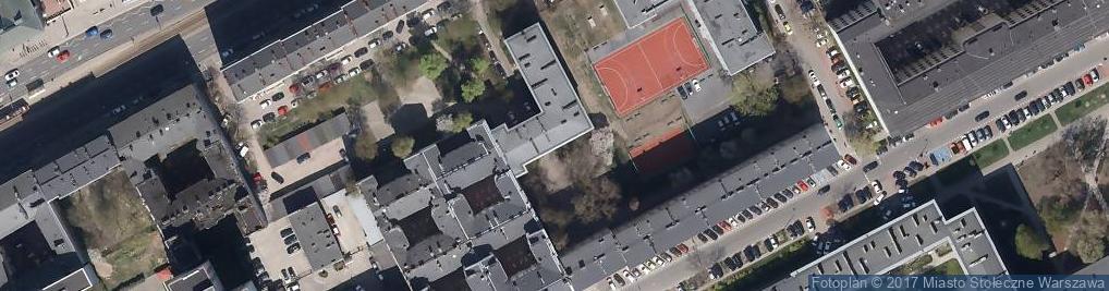 Zdjęcie satelitarne Policealne Studium Fundacji Ogrodowa