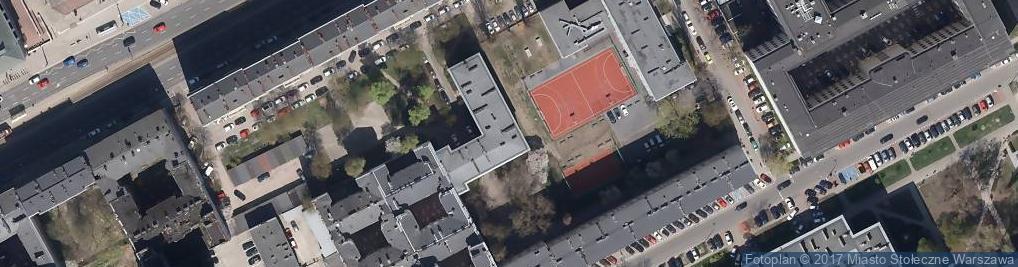 Zdjęcie satelitarne Policealne Studium Sekretarskie w ZSP