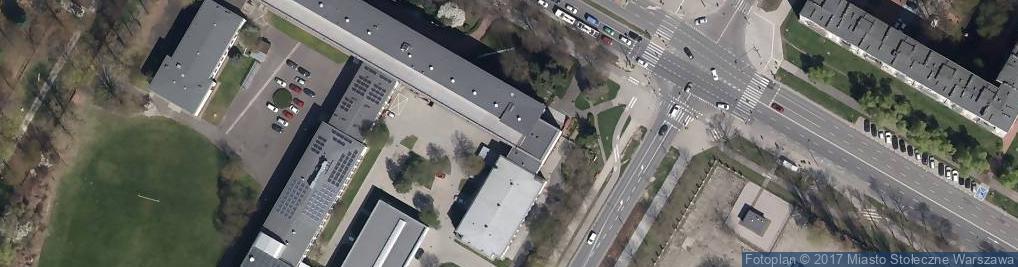 Zdjęcie satelitarne Szkoła, ZS im. inż. Stanisława Wysockiego