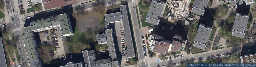 Zdjęcie satelitarne Szkoła