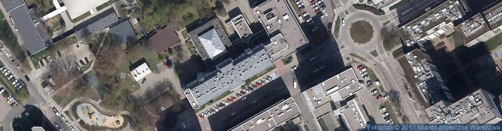 Zdjęcie satelitarne Szpital Specjalistyczny Inflancka im. Krysi Niżyńskiej