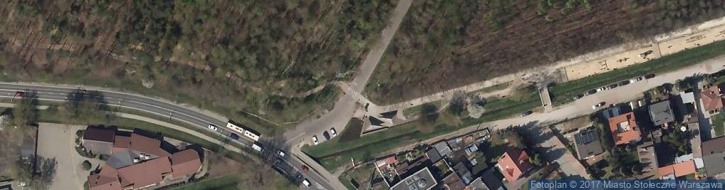 Zdjęcie satelitarne Warszawa Taxi Strefa 2
