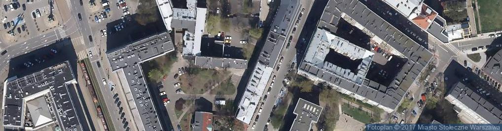 Zdjęcie satelitarne Biennale Warszawa