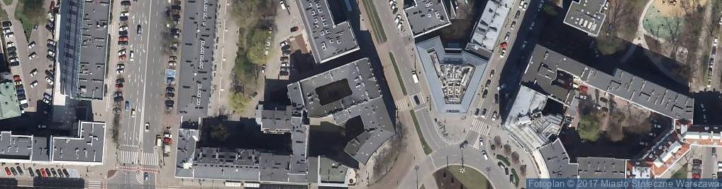 Zdjęcie satelitarne Światłowód - internet telewizja