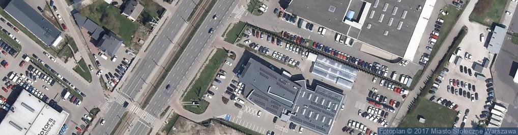 Zdjęcie satelitarne Toyota Okęcie