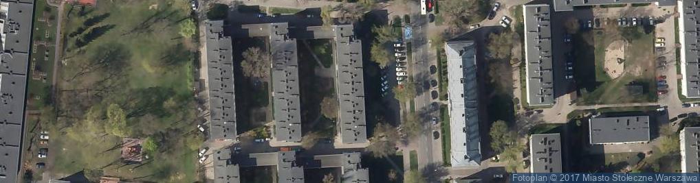 Zdjęcie satelitarne Sklep Ogólno Spożywczy Ker Wysocki Roman Strusińska Krystyna