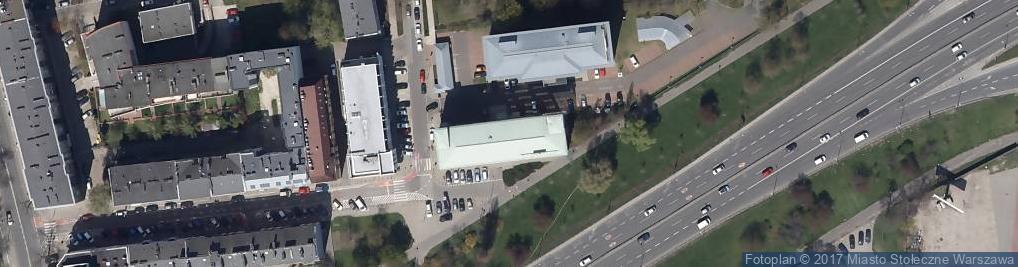 Zdjęcie satelitarne Metlife Towarzystwo Ubezpieczeń Na Życie i Reasekuracji