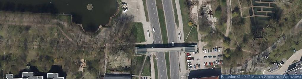 Zdjęcie satelitarne winda - kładka
