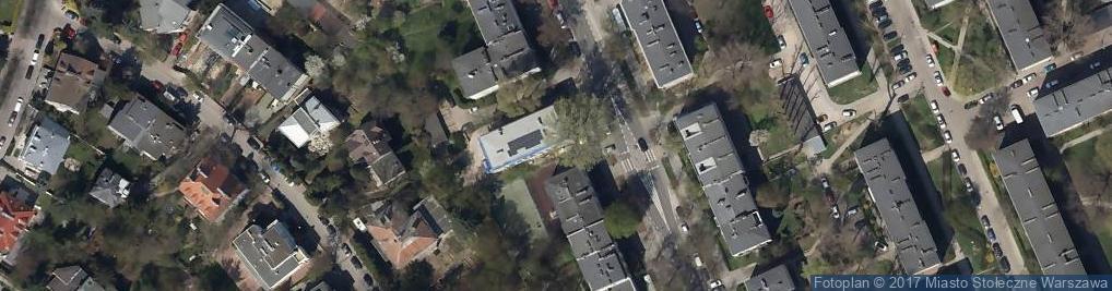 Zdjęcie satelitarne Wyższe Prawosławne Seminarium Duchowne
