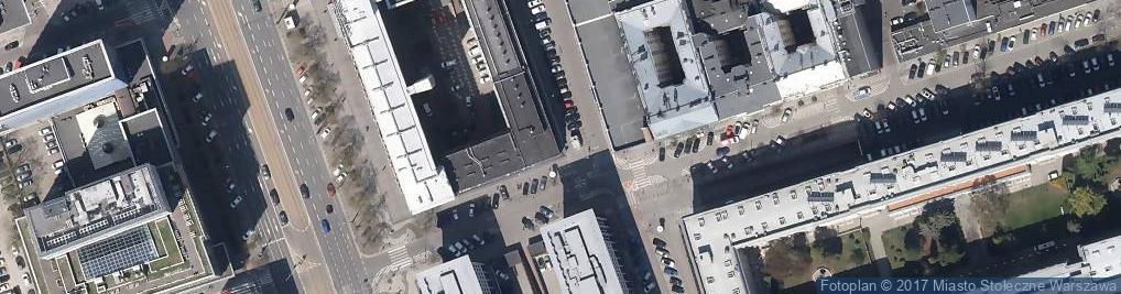 Zdjęcie satelitarne Centralny Inspektorat Standaryzacji