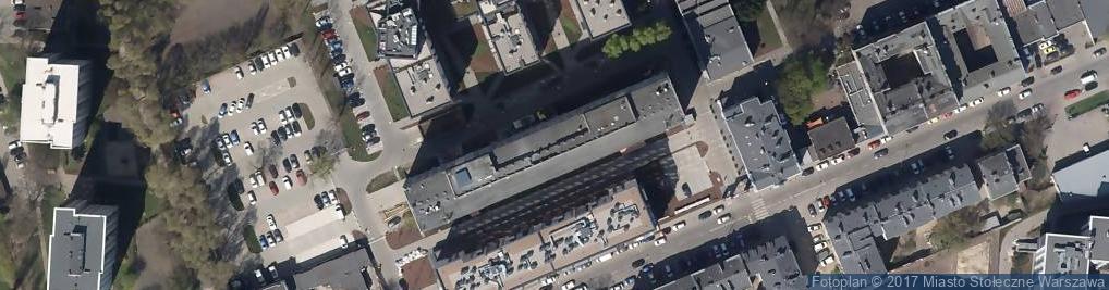 Zdjęcie satelitarne Generalna Dyrekcja Dróg Krajowych i Autostrad Oddział w W-wie