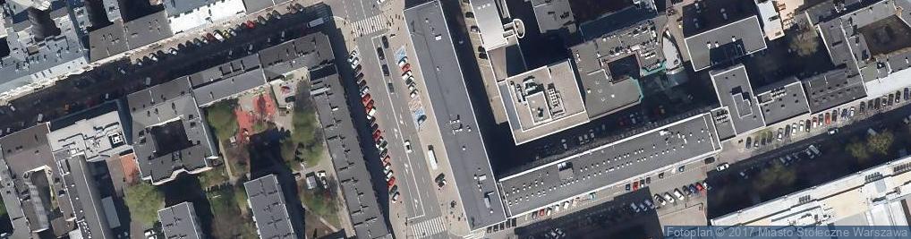 Zdjęcie satelitarne Główny Urząd Nadzoru Budowlanego