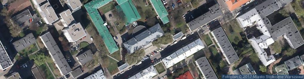 Zdjęcie satelitarne Mazowiecki Instytut Kultury