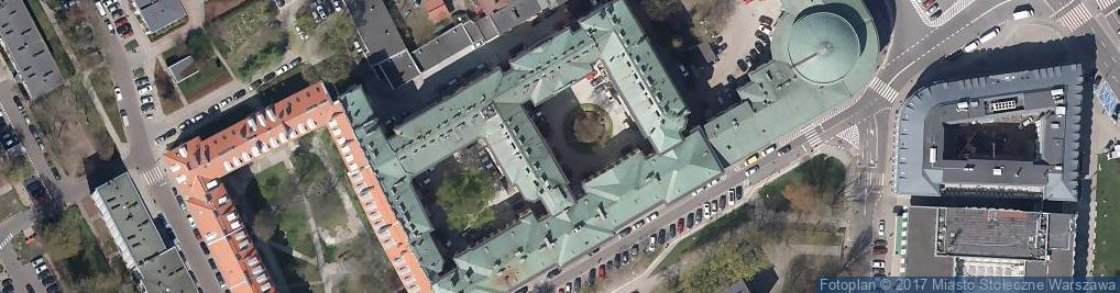 Zdjęcie satelitarne Okręgowy Urząd Probierczy w Warszawie