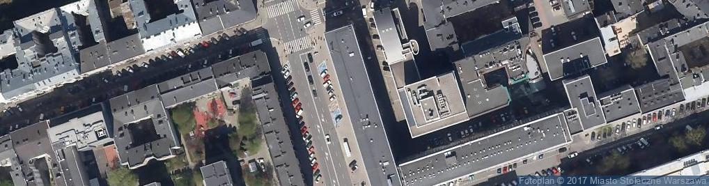 Zdjęcie satelitarne Ośrodek Debaty Międzynarodowej Ministerstwo Spraw Zagranicznych